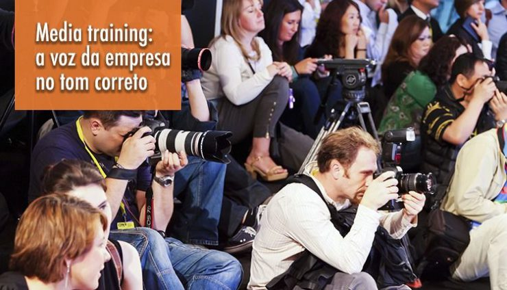 Media training: a voz da empresa no tom correto